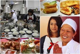 งานแม่ครัว พ่อครัวในอเมริกา
