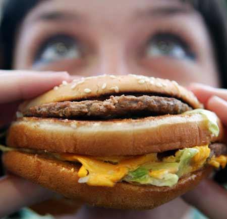 อาหารขยะของคนอเมริกัน (Junk Food)
