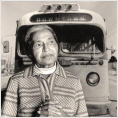 โรซา พาร์คส์ วีรสตรีผู้ปลดแอกชนชั้นของชาวผิวสี
