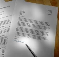 cover letter และ resume