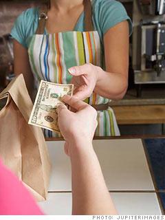 จ่ายทิปในอเมริกา