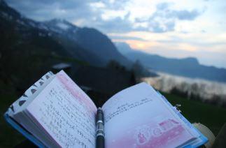 เขียน diary หรือ bloc